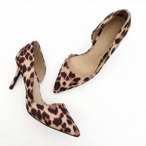 Leopard print heel 9
